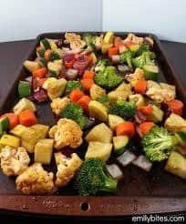 Roast Veg Mix 1 kg