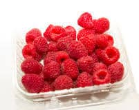 Raspberries Punnet