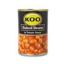 Koo Baked Bean in Tomato Sauce 410g