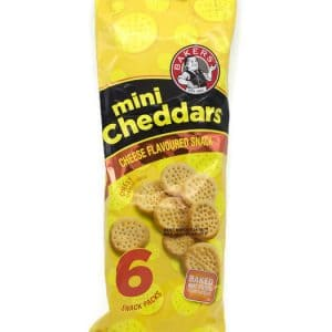 Bakers Mini Cheddar 6x33g Cheese Flavour
