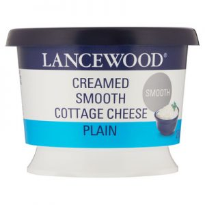 Lancewood Creamed Smooth Plain Cottage Cheese 250g