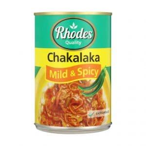 Rhodes Chakalaka Mild & Spicy (1 x 400g)