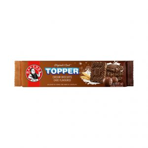 Bakers Topper Biscuits Chocolate (1 x 125g)