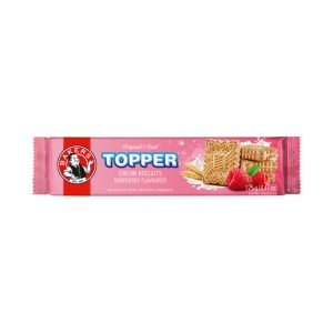 Bakers Topper Biscuits Raspberry (1 x 125g)