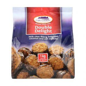 Cape Cookies Biscuits Double Delight (1 x 1kg)