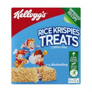 Kellogg's Cereal Bar Multipack Rice Krispies Treats (6 X 22g)