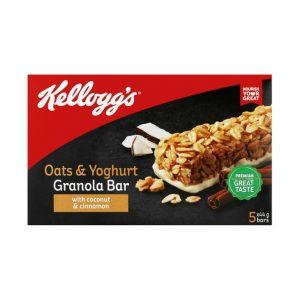 Kellogg's Granolla Bars OATS&YOGHURT (1 X 5'S)