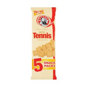 Bakers Mini Biscuits Multipack Tennis (1 x 5 x 40g)
