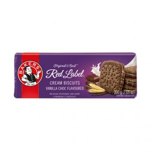 Bakers Red Label Biscuits Vanilla Creams (1 x 200g)