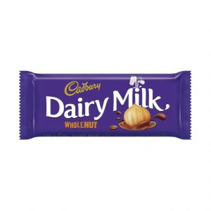 Cadbury Chocolate Slabs Whole Nut (1 x 150g)