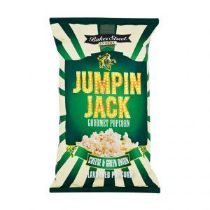 Baker Street Jumpin Jack Popcorn Cheddar and Green Onion 100g