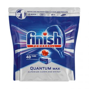 Finish Quantum Dishwasher Tablets Regular (1 x 40's)